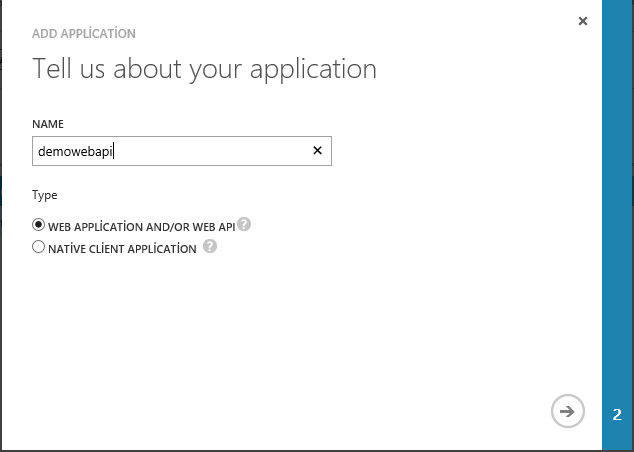 Azure tell us about your application