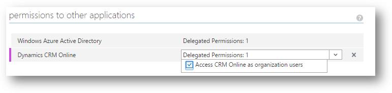 Azure Delegate Permission