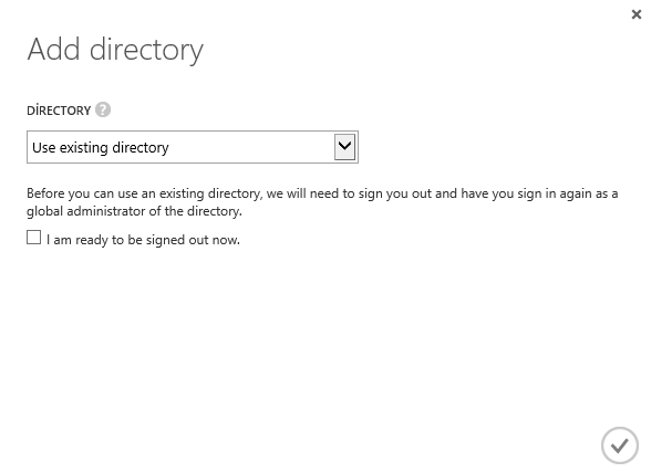 CRM Online Manage Active Directory
