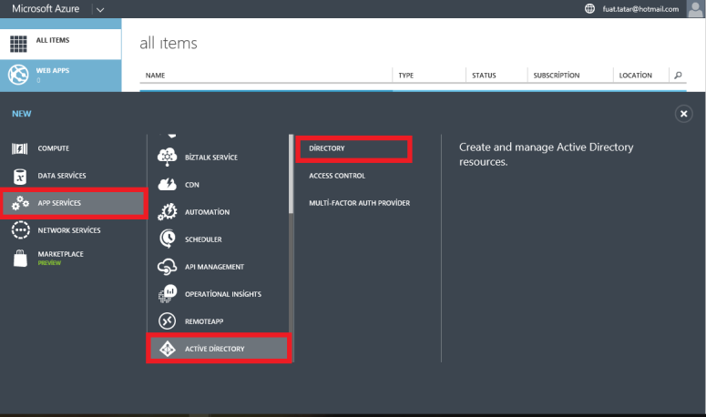 Dynamics CRM Online Manage Azure Active Directory